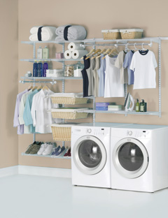 Configurations helps organize your Laundry Room